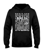 WELSH CWTCH BORE DA Hooded Sweatshirt thumbnail
