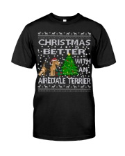 Christmas Is Better With An Airedale Terrier Classic T-Shirt thumbnail