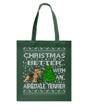 Christmas Is Better With An Airedale Terrier Tote Bag thumbnail