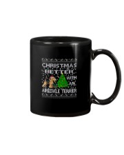 Christmas Is Better With An Airedale Terrier Mug thumbnail