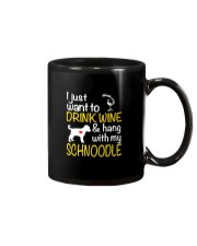 Drink Wine WIth My Schnoodle Mug thumbnail