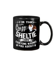Crazy Sheltie Lady Mug thumbnail