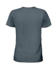 Happier Person Newfie Ladies T-Shirt back