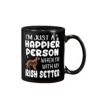Happier Person Irish Setter Mug thumbnail