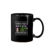 Christmas Is Better With A Morkie Mug thumbnail