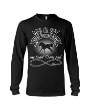 Rocky Mountain Horse Is In My Heart And Soul Long Sleeve Tee thumbnail