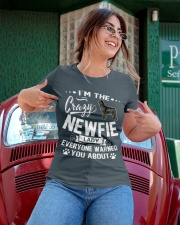 Crazy Newfoundland Lady Ladies T-Shirt apparel-ladies-t-shirt-lifestyle-01