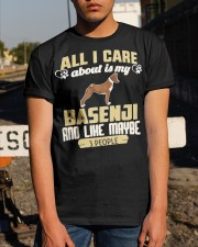 All I Care About Is My Basenji Classic T-Shirt apparel-classic-tshirt-lifestyle-29