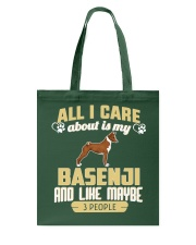 All I Care About Is My Basenji Tote Bag thumbnail