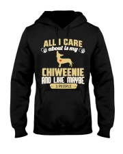 All I Care About Is My Chiweenie Hooded Sweatshirt thumbnail