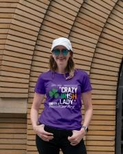 CRAZY IRISH LADY  Ladies T-Shirt lifestyle-women-crewneck-front-4