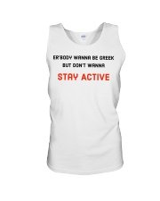 Stay Active Summer Line Unisex Tank thumbnail