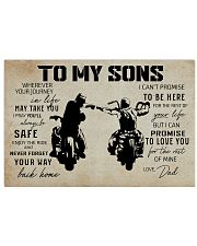 Poster To Sons Biker 17x11 Poster front
