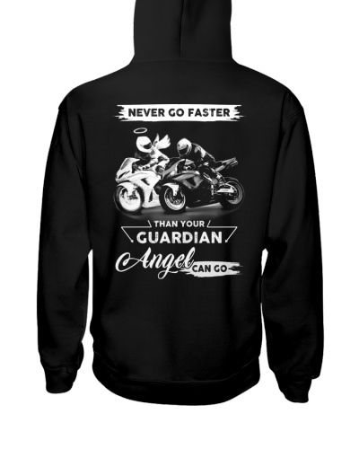 Never go faster than your Guardian Angel can go