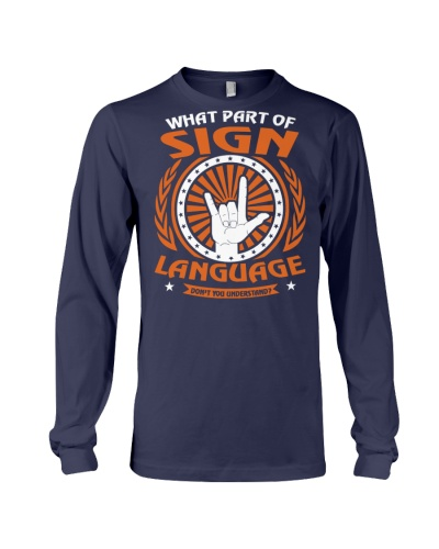 What Part Of Sign Language