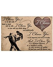 I Choose You Dancing 17x11 Poster front