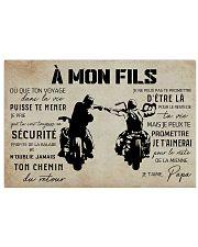 A Mon Fils Papa 17x11 Poster front
