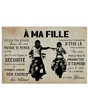 A Ma Fille Maman 17x11 Poster front