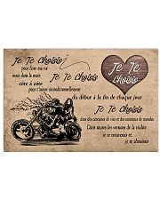 Je Te Choisis 17x11 Poster front