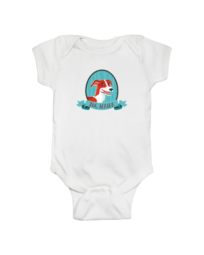Baby Bodysuits With Personality : Dog MAMA