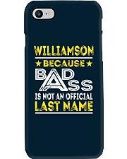 WILLIAMSON Phone Case thumbnail