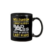 WILLIAMSON Mug thumbnail