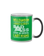 WILLIAMSON Color Changing Mug thumbnail
