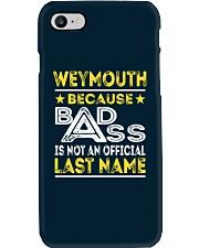WEYMOUTH Phone Case thumbnail