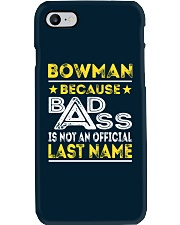 BOWMAN Phone Case thumbnail
