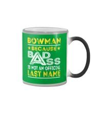 BOWMAN Color Changing Mug thumbnail