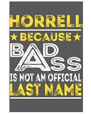HORRELL 11x17 Poster thumbnail
