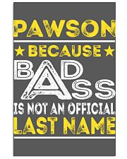 PAWSON 11x17 Poster thumbnail