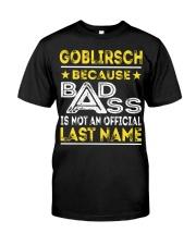 GOBLIRSCH Classic T-Shirt front