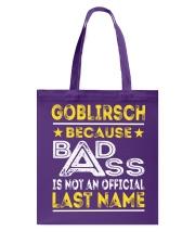 GOBLIRSCH Tote Bag thumbnail