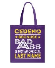 CEDENO Tote Bag thumbnail