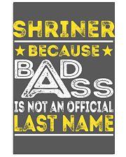 SHRINER 11x17 Poster thumbnail