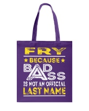 FRY Tote Bag thumbnail