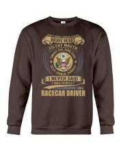 Racecar Driver Crewneck Sweatshirt thumbnail