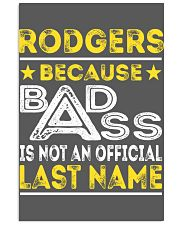 RODGERS 11x17 Poster thumbnail