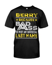 BERRY Classic T-Shirt front