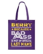 BERRY Tote Bag thumbnail