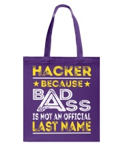 HACKER Tote Bag thumbnail