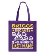 BRIGGS Tote Bag thumbnail