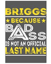 BRIGGS 11x17 Poster thumbnail