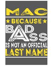 MAC 11x17 Poster thumbnail