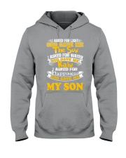 GOD GAVE ME MY SON Hooded Sweatshirt thumbnail