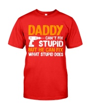 DADDY CAN FIX Classic T-Shirt front