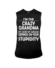 CRAZY  GRANDMA Sleeveless Tee thumbnail