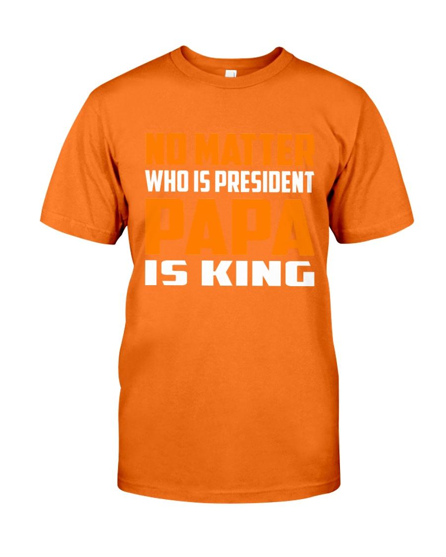 PAPA IS KING Classic T-Shirt