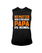PAPA IS KING Sleeveless Tee thumbnail